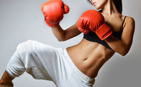 kick boxing en casa