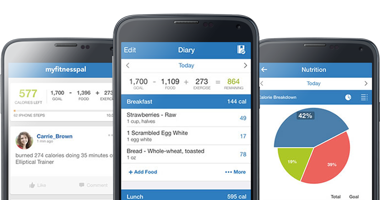 apps fitness myfitnesspal