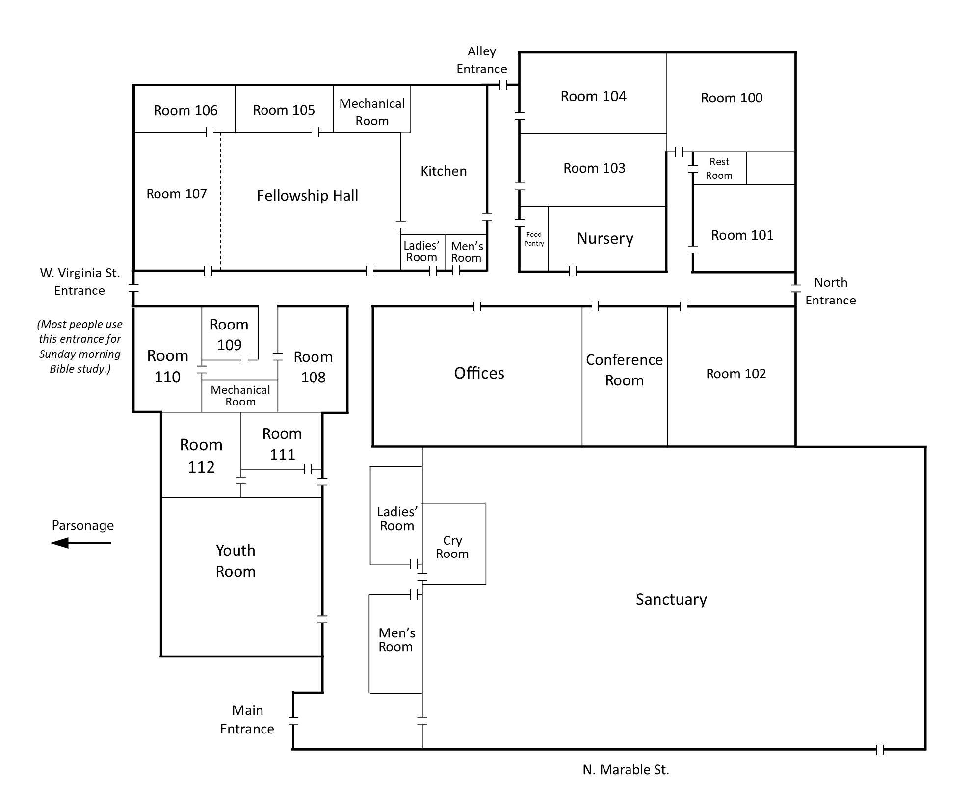 Floor Plan Large