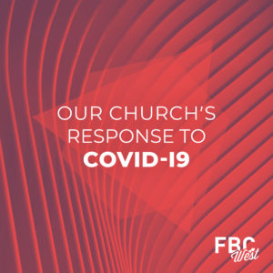 Response To Covid 19 Red Shapes