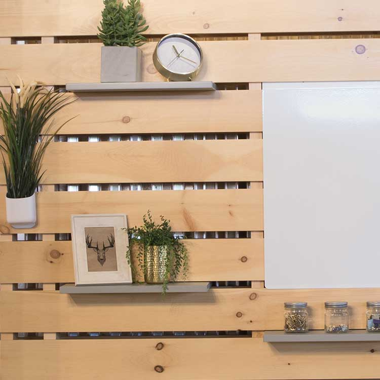 Pallet Wall Display Furniture