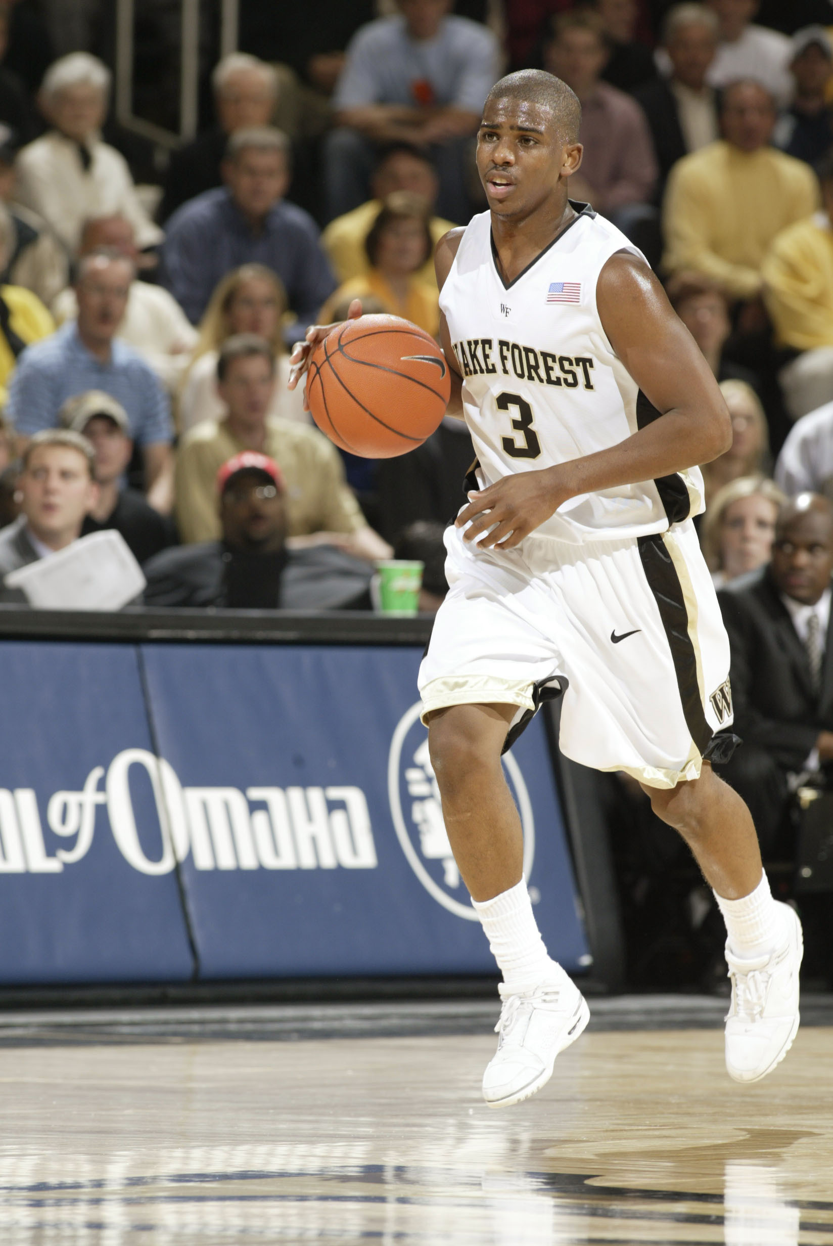 4ccc43353 Chris Paul s No. 3 will be the 11th basketball jersey retired at Wake  Forest.