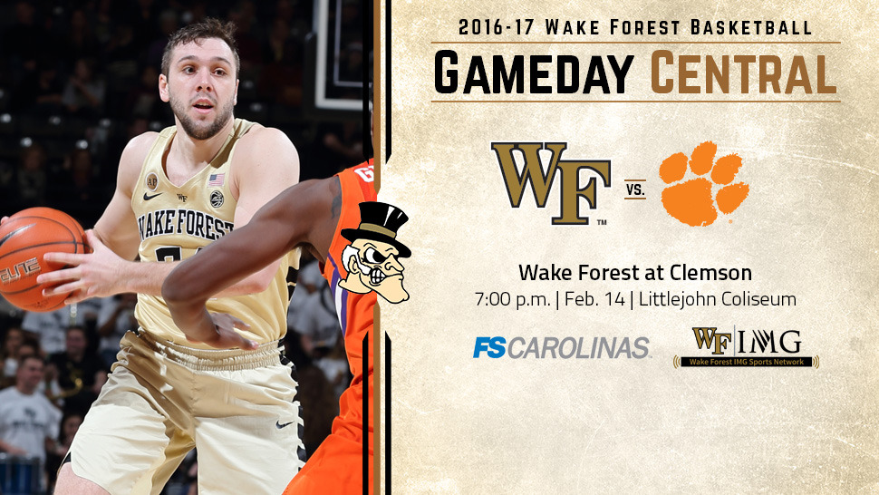 7b6de5993841 Basketball Gameday  Wake Forest at Clemson - Wake Forest University