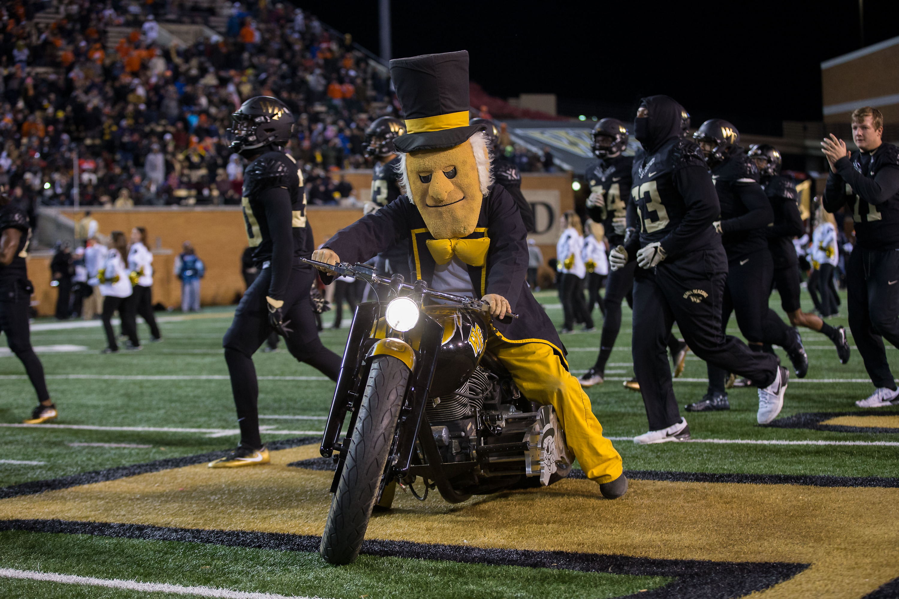 Image result for wake forest football tailgate