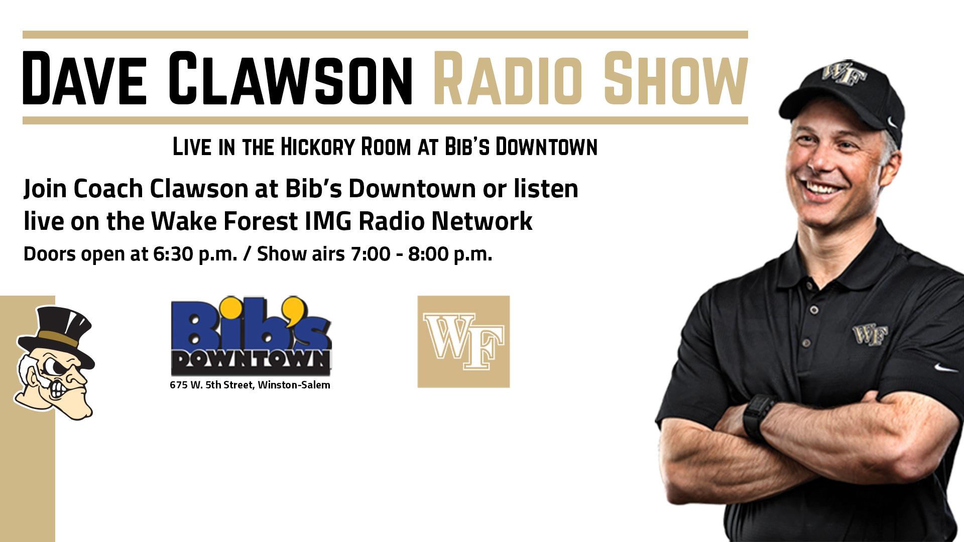 Dave Clawson Radio Show