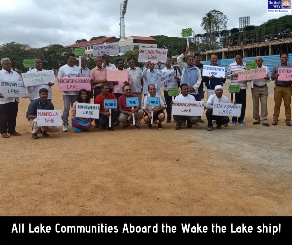 Unveiling of Wake the Lake Portal: Getting all Bangalore Lake Communities on Board 1