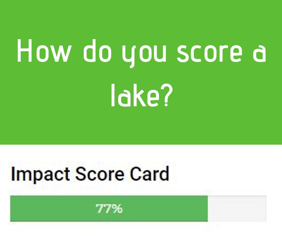 Help Improve your Lake's Impact Score 1