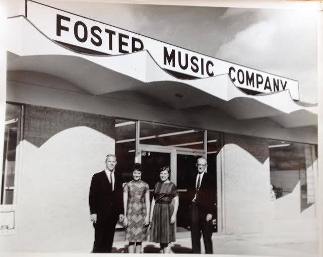 Foster Music Company in Garden City, Kansas, 1961