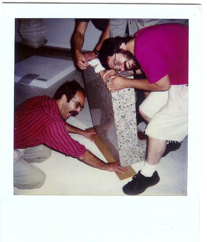 Willie and richard  wac exhibition crew  early 90's
