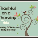 Thankful on a Thursday 10/7/2010