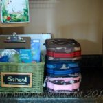 5 Days of Organizing Back to School…Supplies and Gear