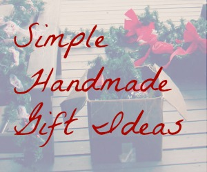 Simple handmade gift ideas--baking, crafting, and lovely packaging! {@www.walkinginhighcotton.net}