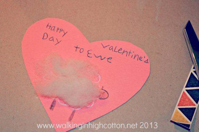 "Happy Valentines Day to ""ewe"" {via Walking in High Cotton}"