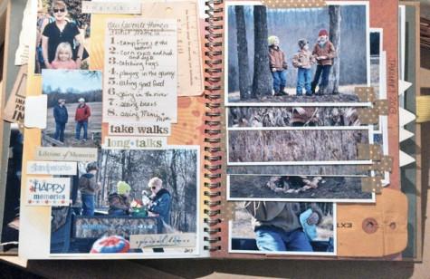 Smashbook Journaling at Walking in High Cotton