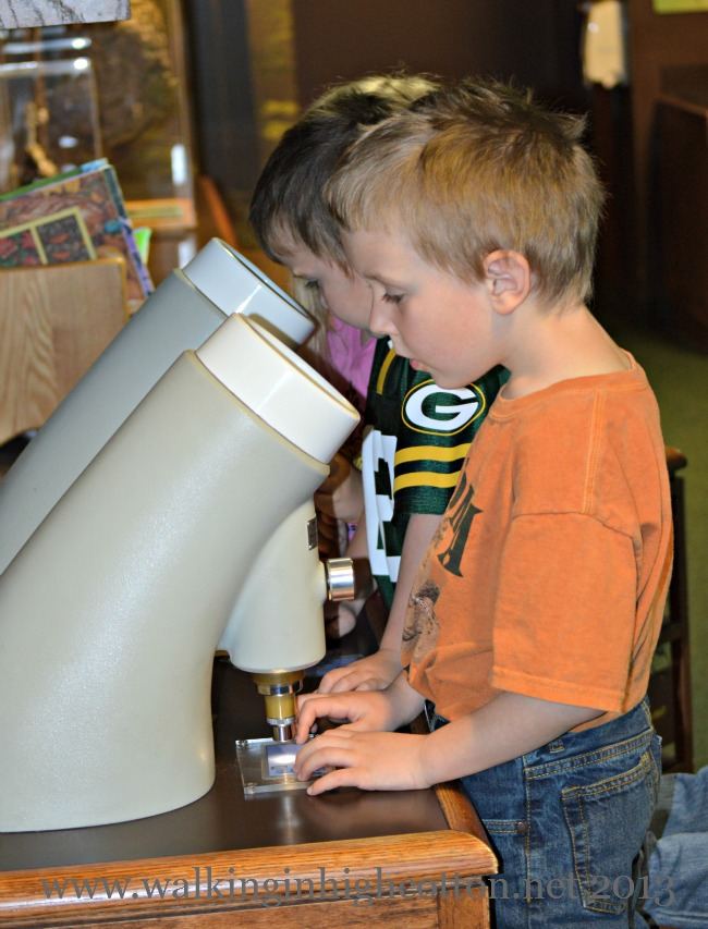Our kids LOVE the discovery centers--kid-friendly, hands on science areas.