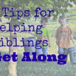 5 Tips for Helping Siblings Get Along