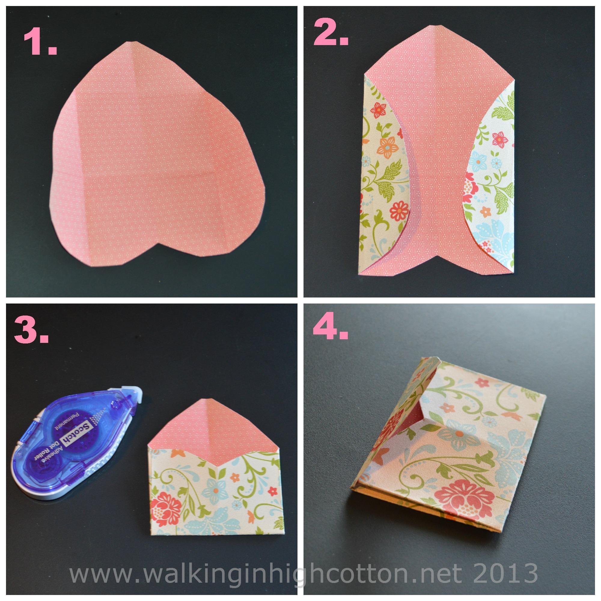 mini envelope tutorial 2
