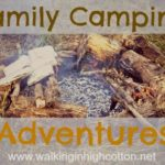 Family Camping Adventures — Food and Water