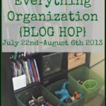 Everything Organization {BLOG HOP} — Favorite Simple Products