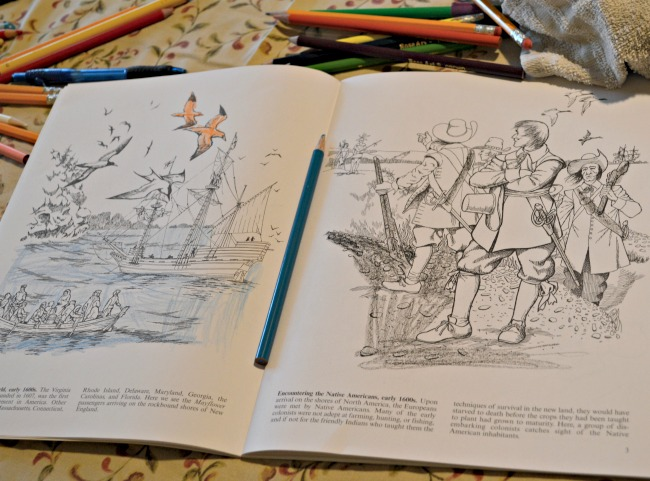"These Dover coloring books are much more than just a ""coloring book!"" They are a reference book in themselves! They're amazing and the kiddos LOVE them!"