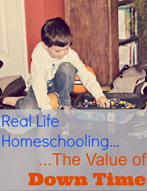 The Value of Down Time...Real Life Homeschooling @ Walking In High Cotton