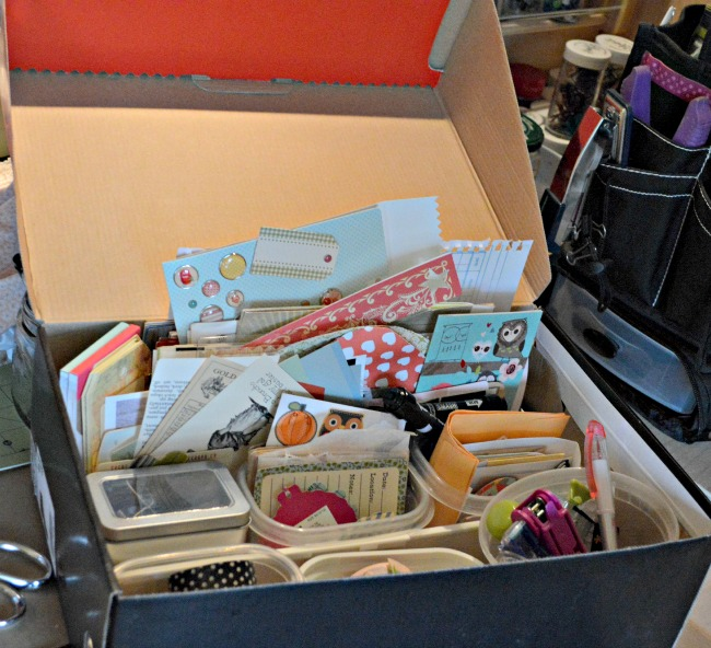 smashbook box {at Walking in High Cotton}