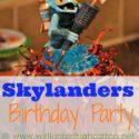 Simple, Homemade, and #Frugal #Skylanders Birthday Part @ www.walkinginhighcotton.net