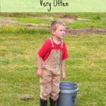 Kids and Chores…Making Routines {and Why We Don't Switch Chores Very Often}