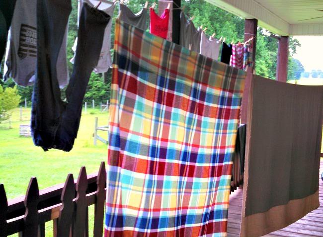 summer laundry