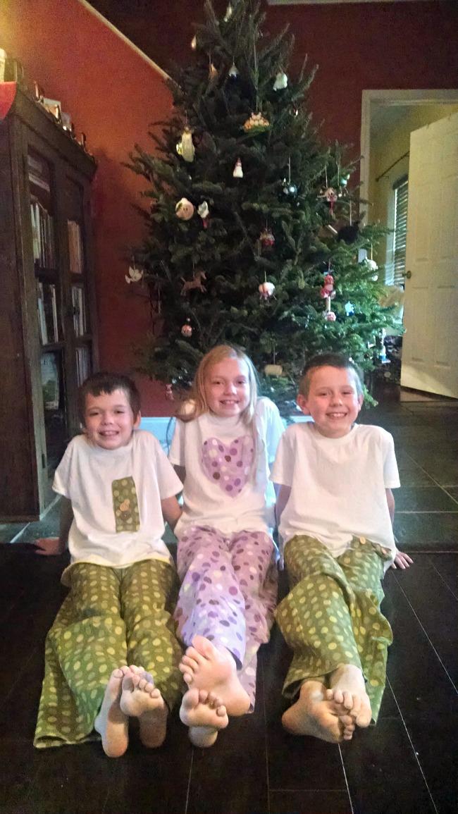 christmas jammies 2015
