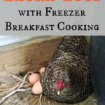 Using Up Extra Eggs With Breakfast Freezer Cooking