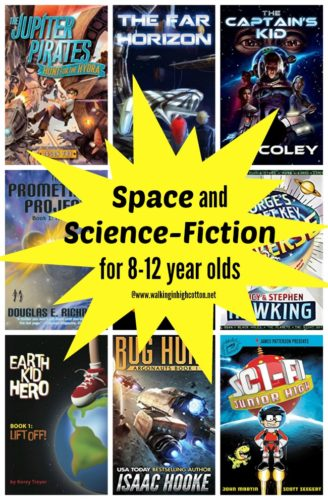 Space and Science Fiction Adventure Books for 8-12 yo via Walking in High Cotton