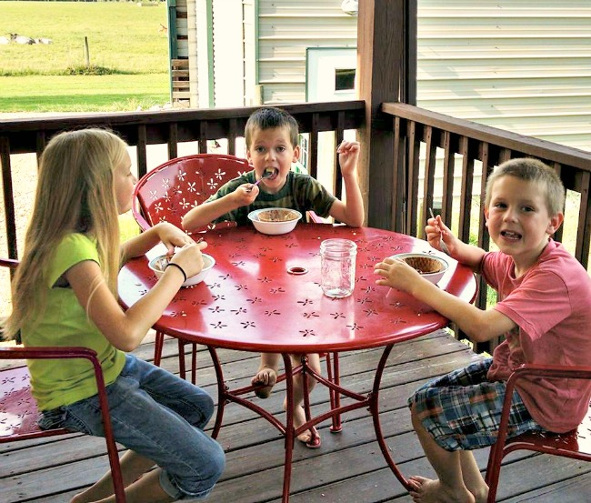 great outdoor spaces for family time