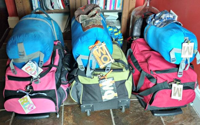 easy diy luggage tags