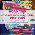 Family Road Trip Travel Activity Cases for Kids