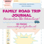 Family Road Trip Journal Using Smashbooks…Free Printable Travel Journal Page