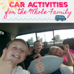 10 Road Trip Car Activities for the Whole Family