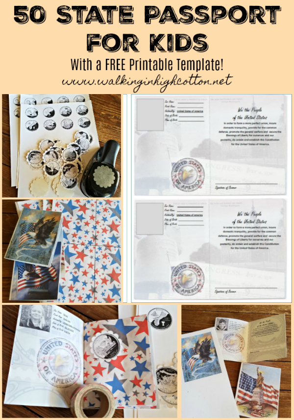 image regarding Free Printable Passport Template for Students referred to as Do-it-yourself 50 Nation Pportswith Free of charge Printable » Going for walks inside