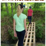 How To Use Pallets as Small Bridges on the Homestead