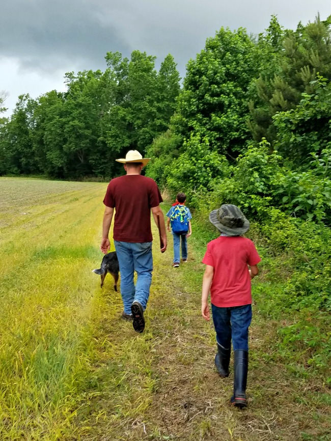 How do you redeem the time when you have great family plans for the day and something happens to derail them? Can you still get something good out of it? Of course you can!  via Walking in High Cotton
