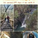 Camping and Hiking at Tallulah Gorge George...we came, we saw, we walked 1,099 steps--it was beautiful! You should do it! via Walking in High Cotton