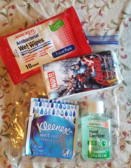 Family Vehicle First Aid Kit...the stuff your family actually needs when you're away from home. With a printable checklist so you can put your own kit together! via Walking in High Cotton