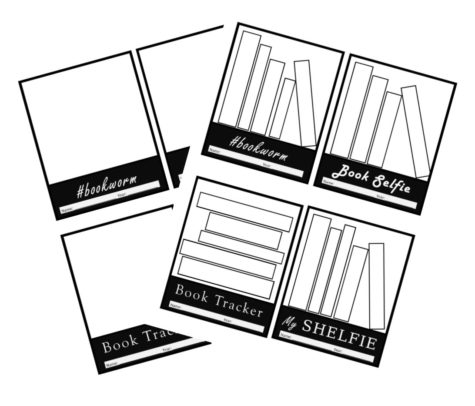 FREE Printable reading log book selfie snapshots...a fun way to track summer reading for the whole family!  via Walking in High Cotton