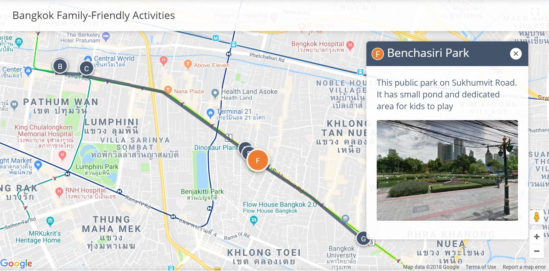 Bangkok family friendly activities walkli see all bangkok maps gumiabroncs Images