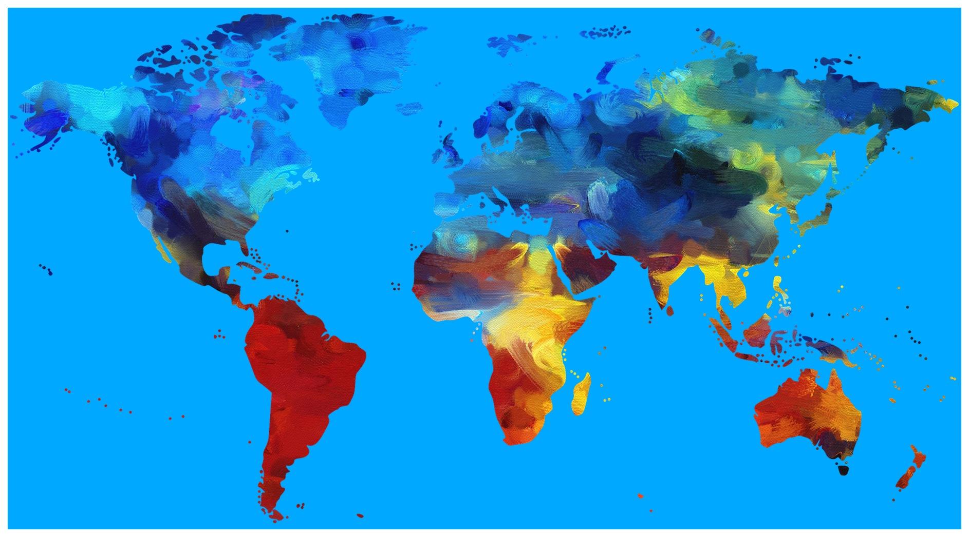Free walking guides walkli world map gumiabroncs Image collections