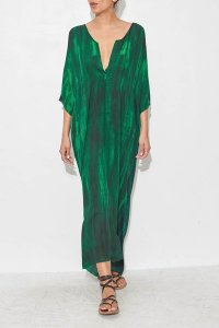 Green Caftan Dress