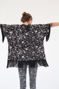 Gram Silk Poncho