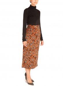 Lavionas Animal Delight Pencil Skirt