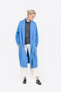 Big Cable Knit Coat