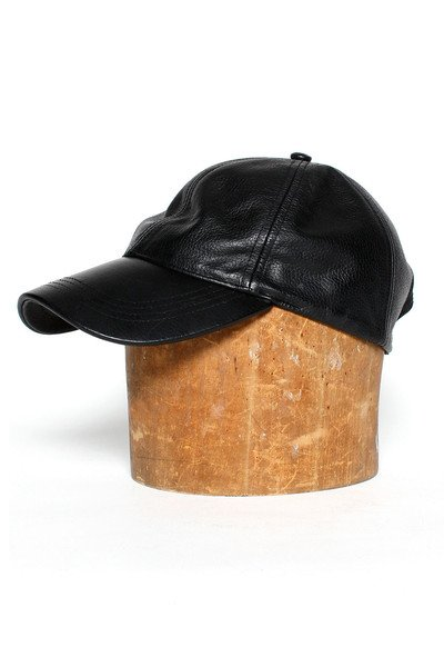 Assembly Leather Baseball Cap